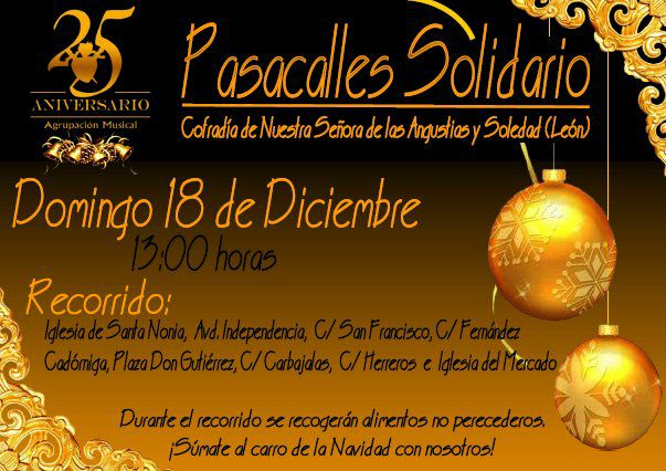 Pasacalles Solidario AM Angustias